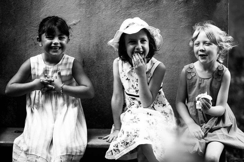 tre ragazzine