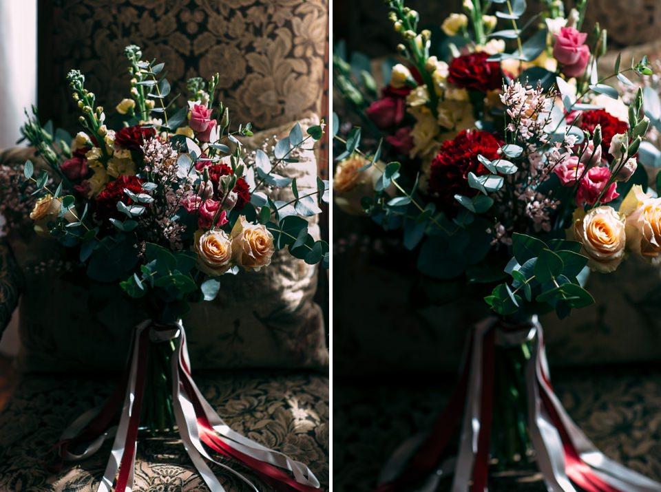 fiori autunnali per un elegante matrimonio nel monferrato