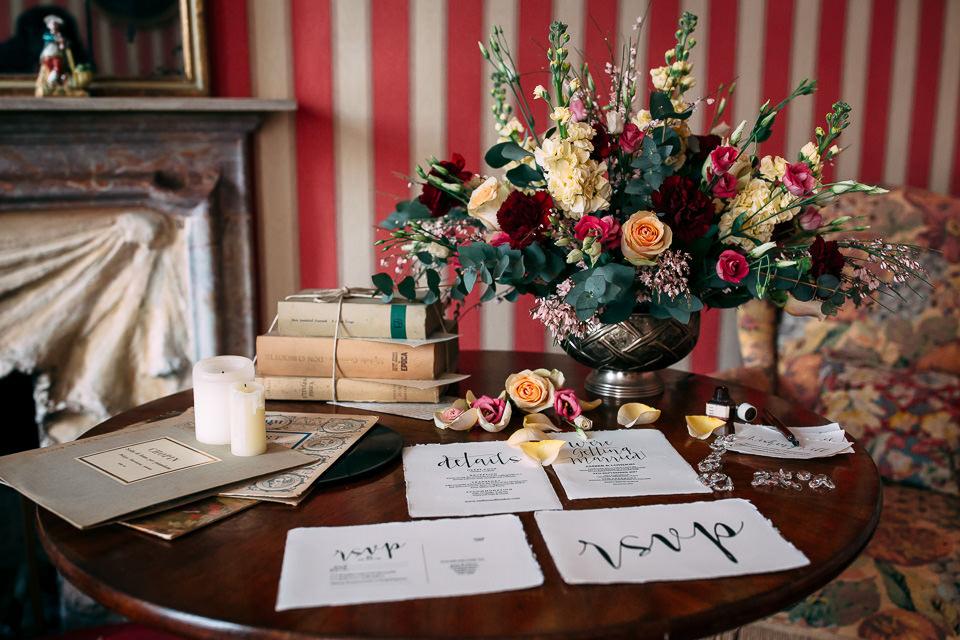 eleganti e colorati fiori per un matrimonio autunnale nel monferrato