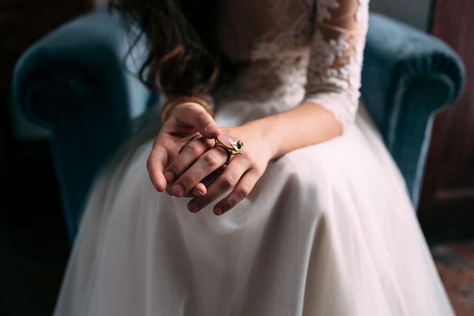 gioielli per un matrimonio autunnale nel monferrato