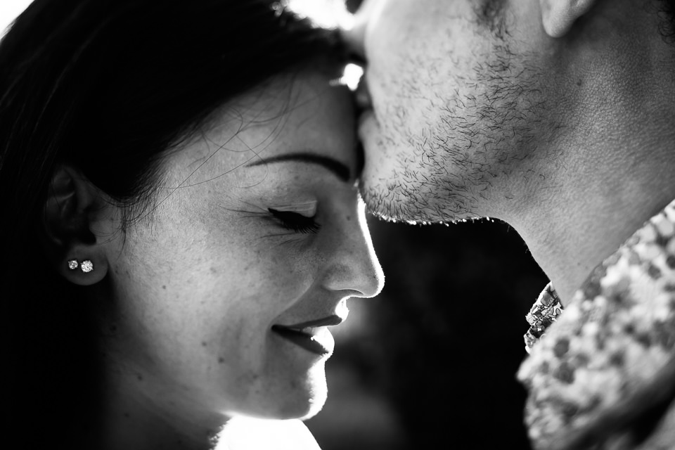 engagement photo shoot alternative guys