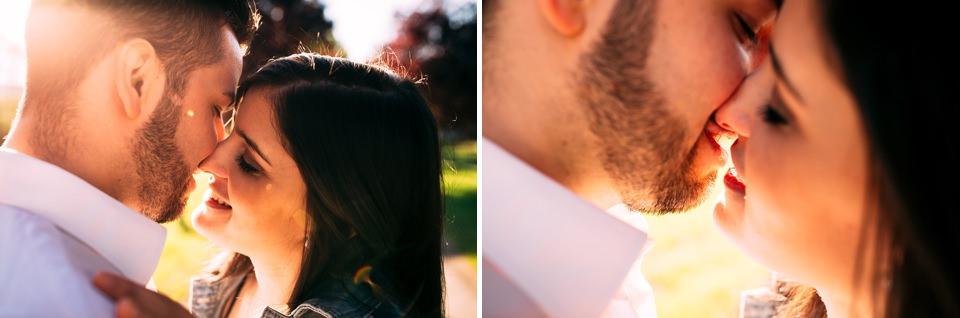 ragazzi innamorati si baciano