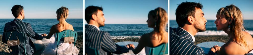 un elegante matrimonio in spiaggia