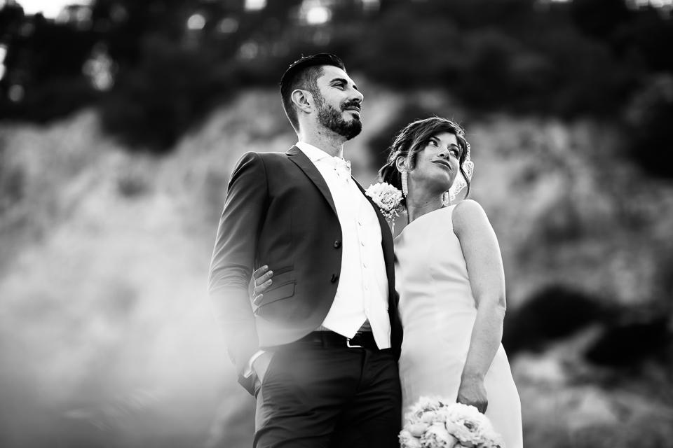 eleganti sposi