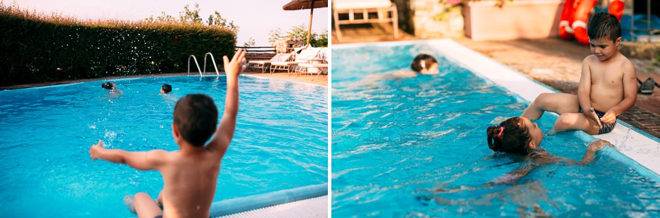 matrimonio con piscina al paradiso di manù, noli ligure