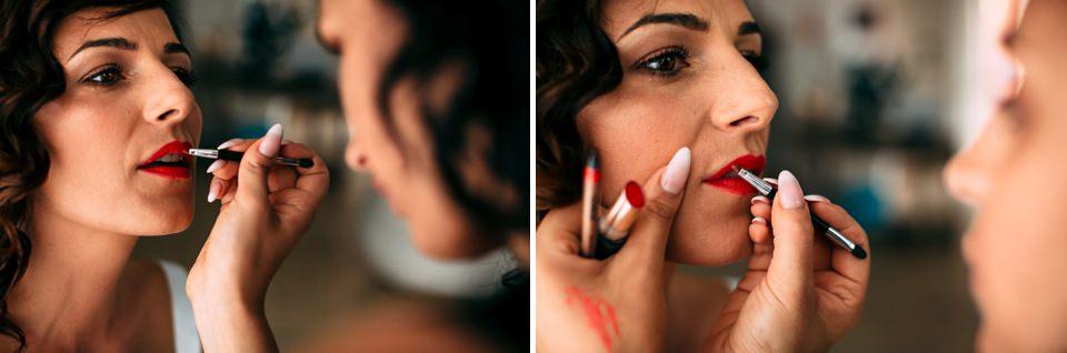 rossetto rosso della sposa