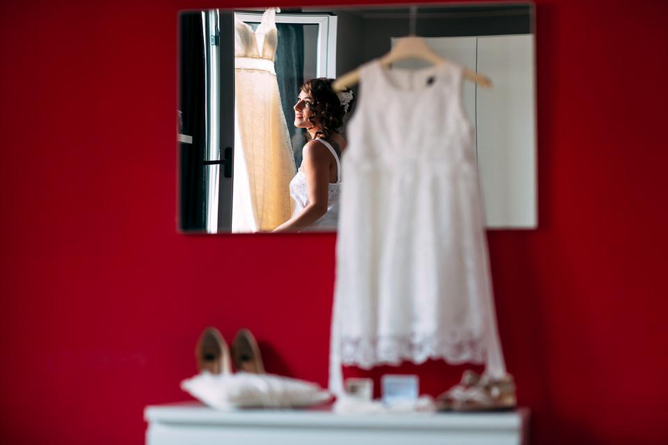 vestitino da bambina bianco per matrimonio