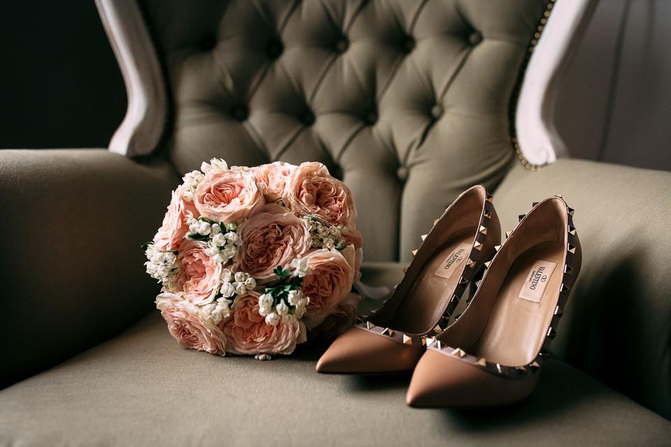 scarpe da sposa Valentino