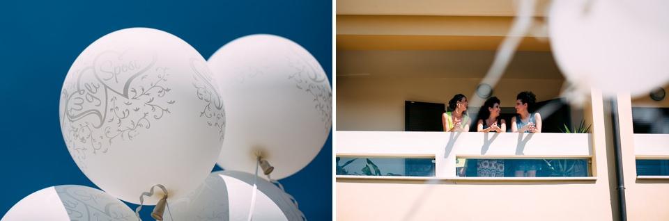 palloncini bianchi matrimonio in toscana pistoia