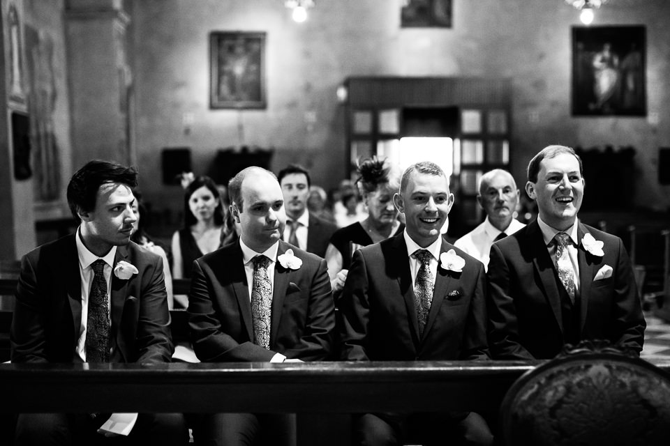witnesses of the Irish groom