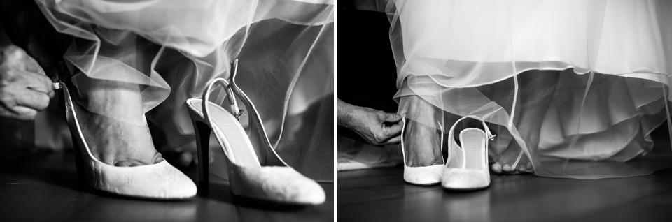 scarpe bianche da matrimonio
