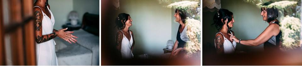 intimo bianco per la sposa