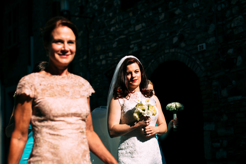 Irish bride a sirmione, lake Garda