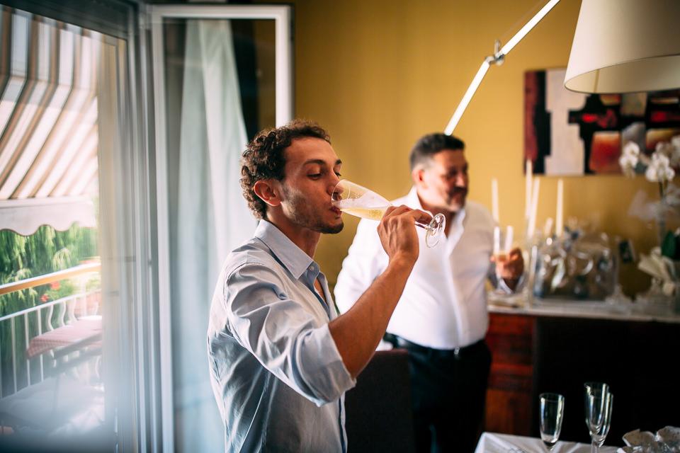 brindisi dello sposo