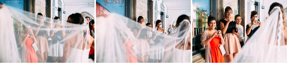 amiche della sposa matrimonio Savona