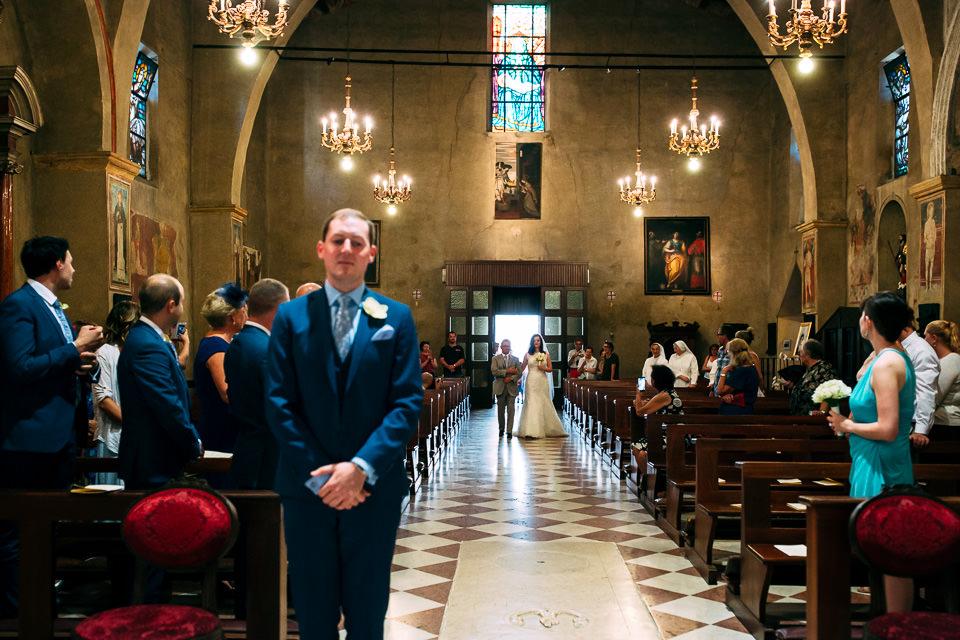 sposi irlandesi si sposano a sirmione