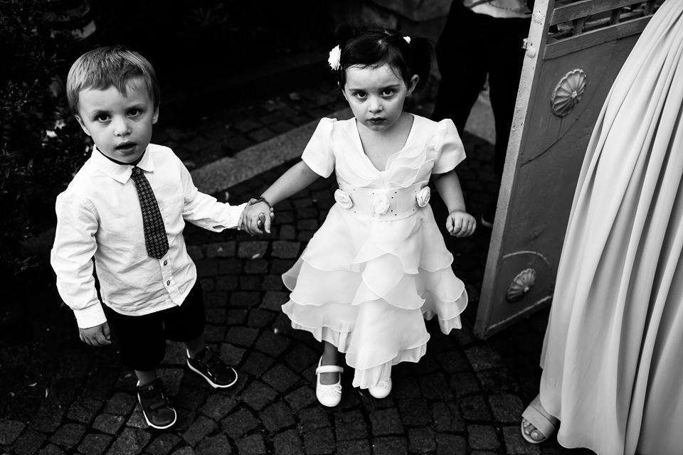 bambini ad un matrimonio a Savona