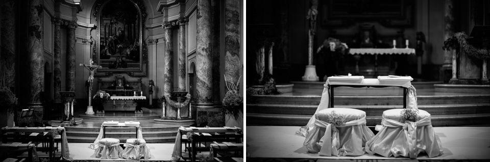 altare matrimonio