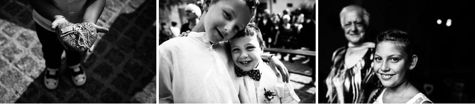 bambini ad un matrimonio