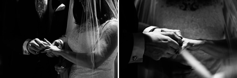 scambio degli anelli matrimonio a sirmione