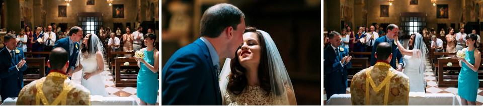 eleganti sposi irlandesi si sposano in italia