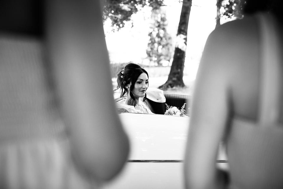 arrivo della sposa in villa Scati