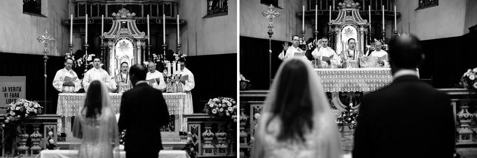 cerimonia in chiesa a sirmione