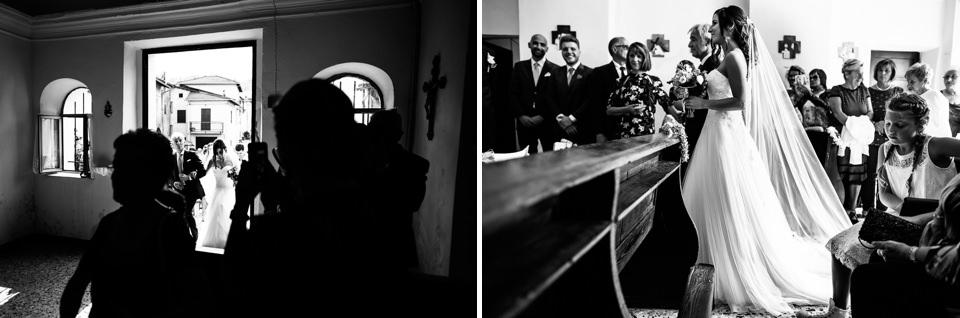 ingreso della sposa in chiesa