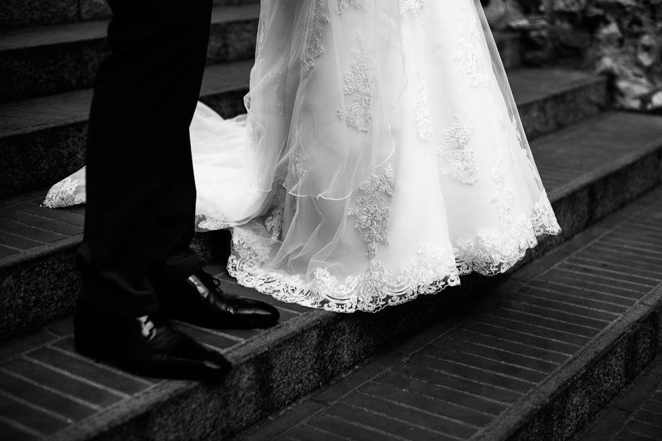 elegante abito bianco sirmione