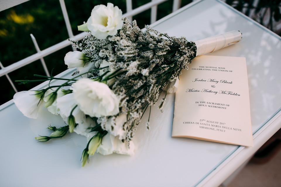 Irish wedding flower bouquet