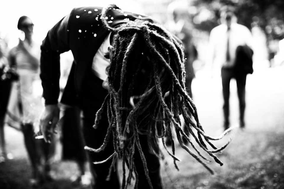 dreadlocks groom