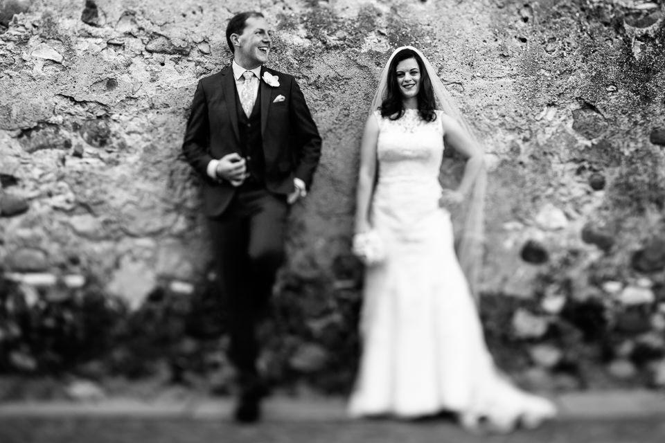 ritratto creativo coppia di sposi irlandesi