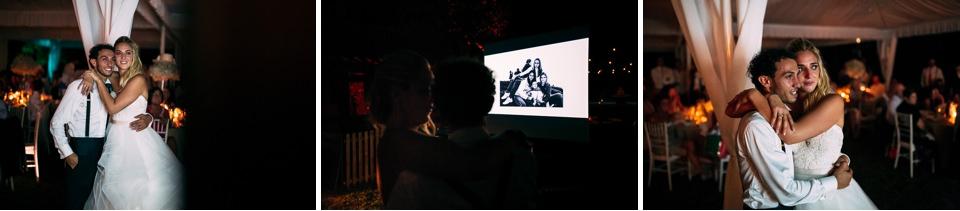 proiettore filmino matrimonio