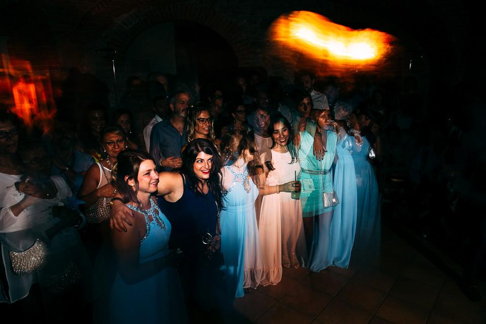 festa di matrimonio a villa scati