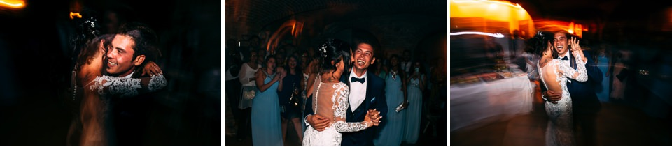 the first dance wedding villa Scati acqui terme