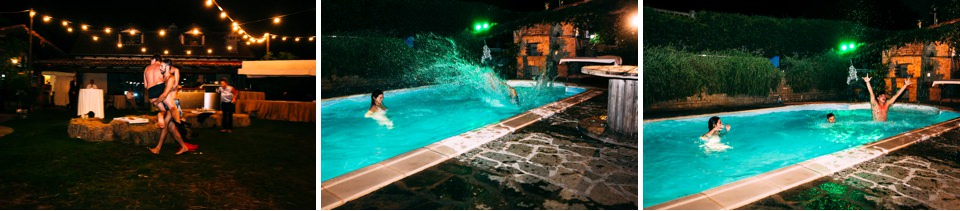 location per matrimonio con piscina balneabile a Savona