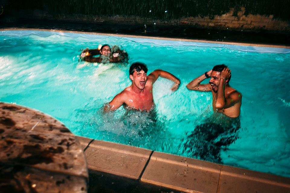 matrimonio piscina