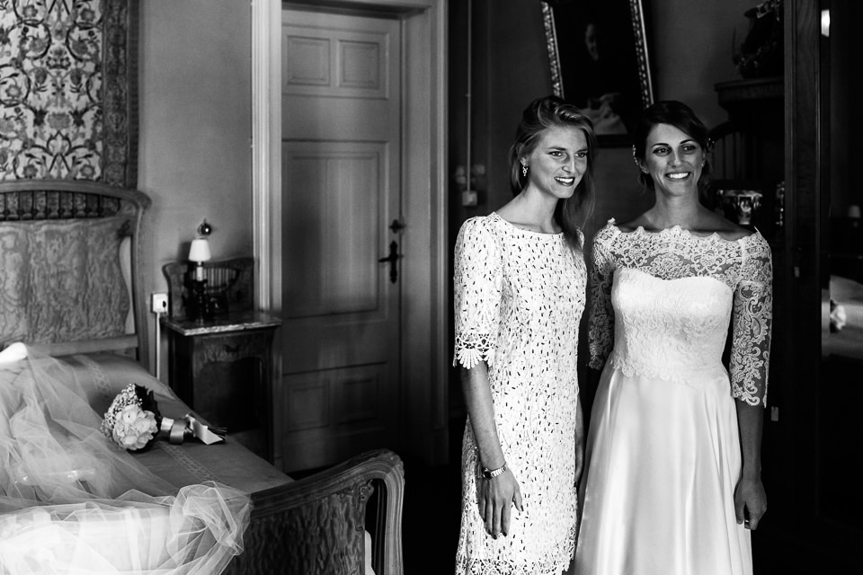 la sposa e sua sorella ad alessandria
