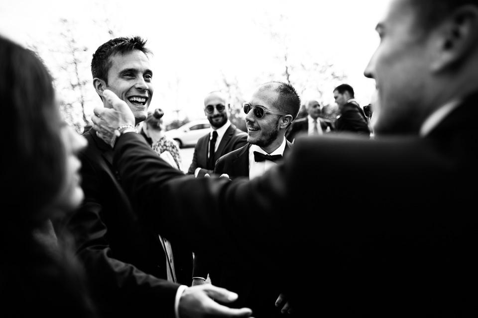 lo sposo e i suoi amici
