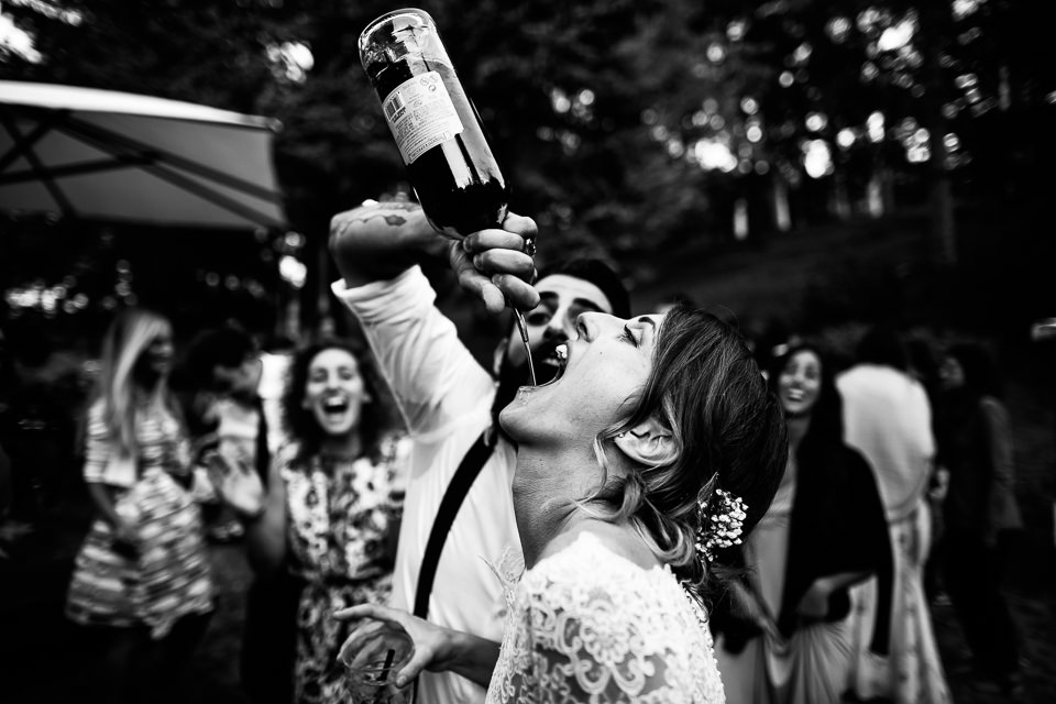 sposa che vede whisky ad alessandria