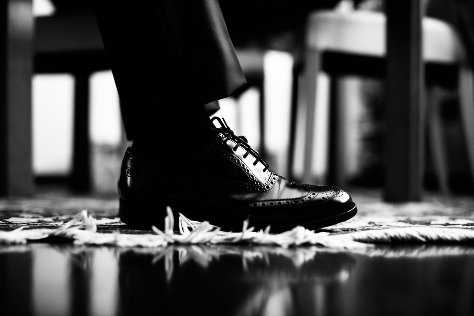 eleganti scarpe uomo nere matrinomio