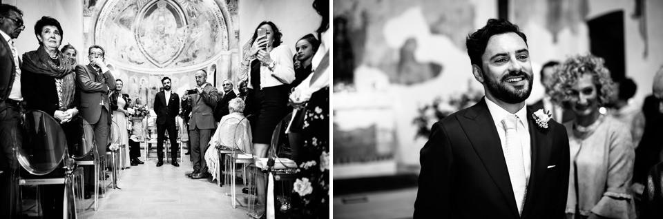 sposo all'altare