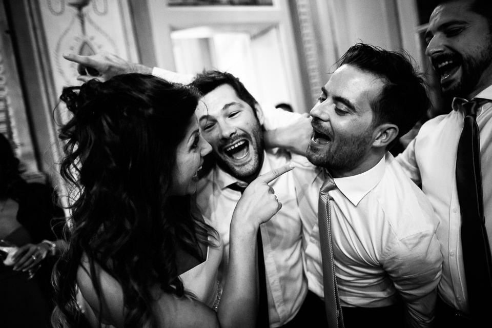 festa di matrimonio a villa bossi