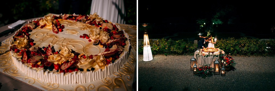torta nuziale della pasticceria Oliver di varese