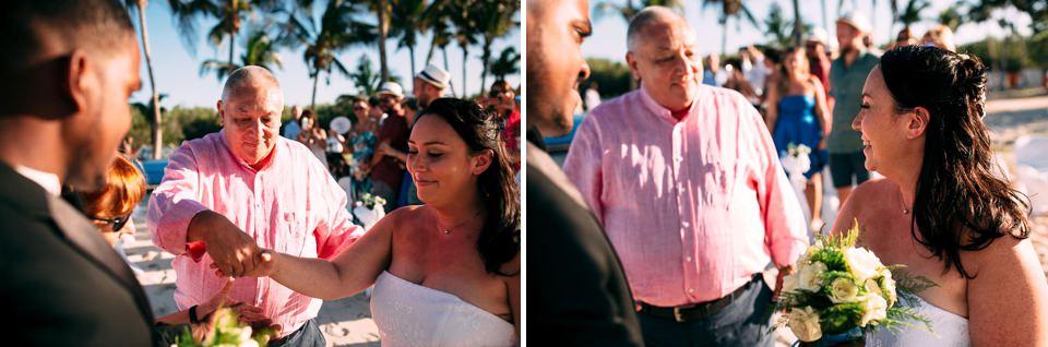matrimonio sulla spiaggia a cuba, matanzas