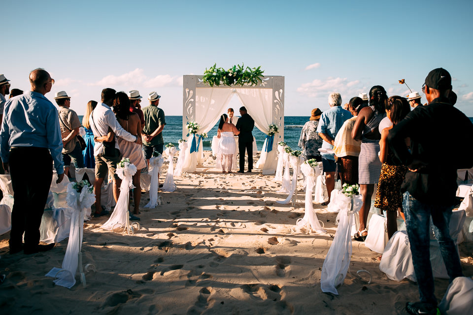 wedding ceremony on the matanzas cuba beach