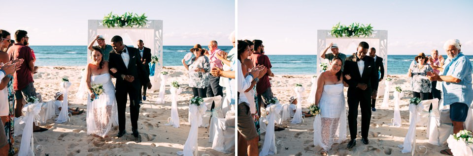 wedding on the beach celebration caribbean style