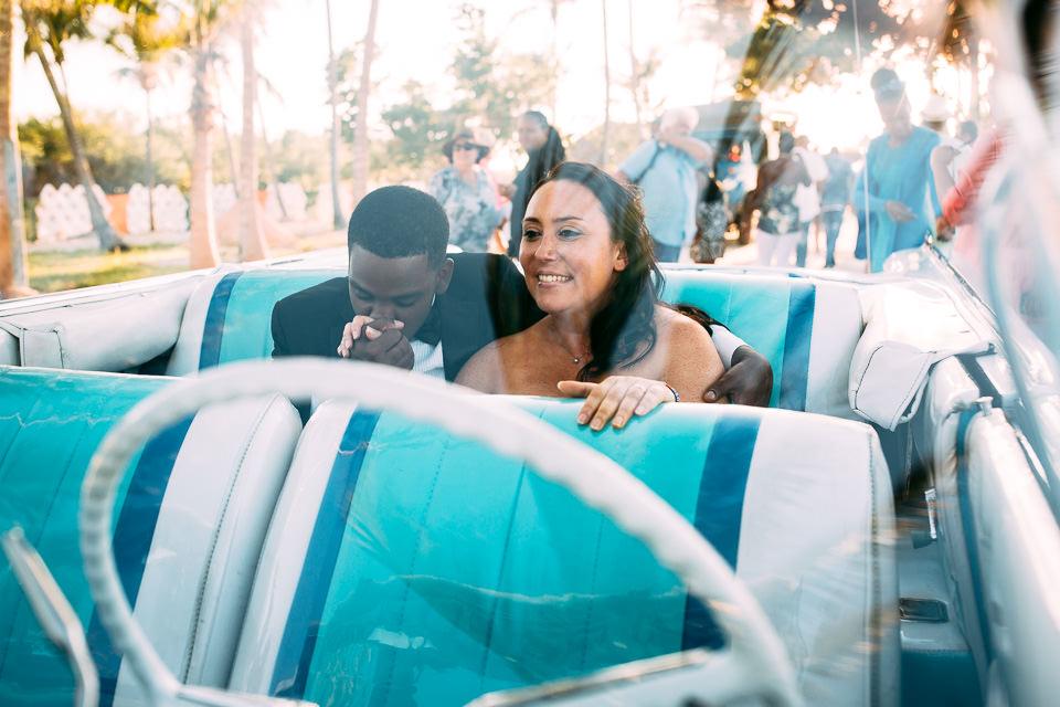 recién casados en Cuba