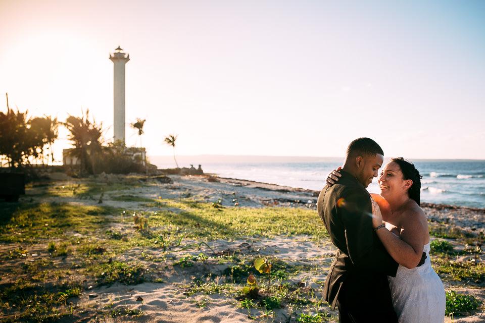 fotografías en la playa de una boda