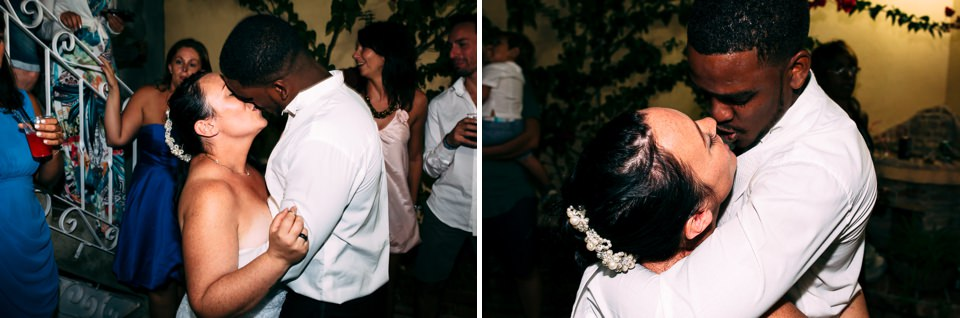 matrimonio a cuba, primo ballo sposi